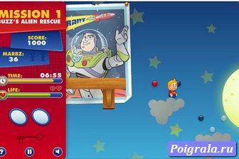 Картинка к игре История игрушек 3, собери шарики