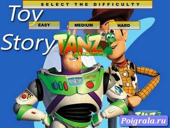История игрушек, пазл Вудди и База картинка 1