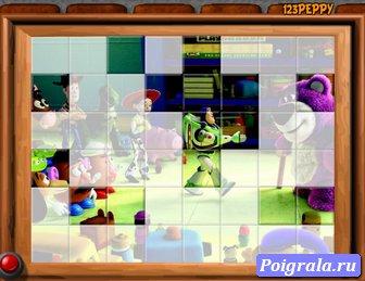 Картинка к игре Пазл история игрушек