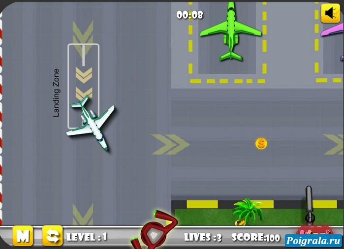 Картинка к игре Припаркуй свой самолет