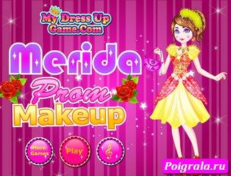 Игра Макияж принцессы Мериды