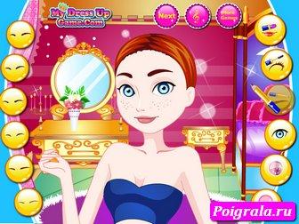 Картинка к игре Макияж принцессы Мериды