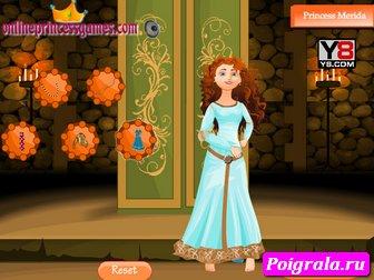 Картинка к игре Одень принцессу Мериду