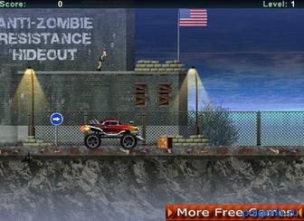 Картинка к игре Убей всех зомби на машине