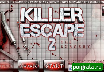 Игра Побег от убийцы 2