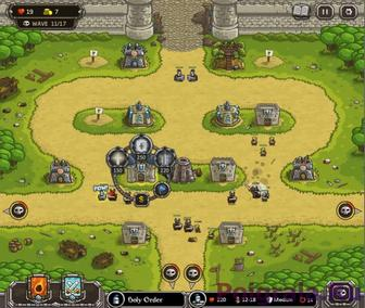 Игра Kingdom Rush Hacked