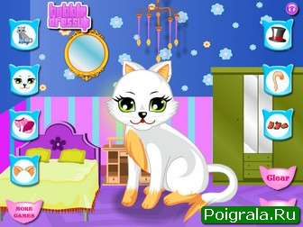 Картинка к игре Создай свою кошку