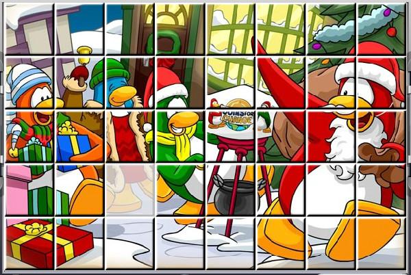 Картинка к игре Пазл клуба пингвинов