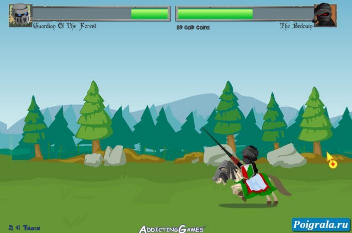 Картинка к игре Дуэль рыцарей