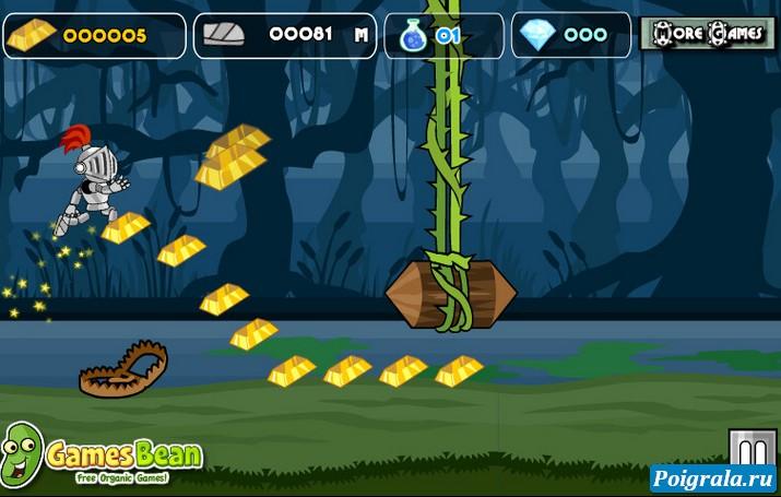 Картинка к игре Бегущий рыцарь