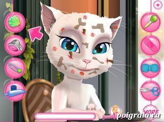 Картинка к игре Говорящая Анжела, макияж