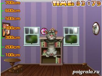 Картинка к игре Кот Том на батуте
