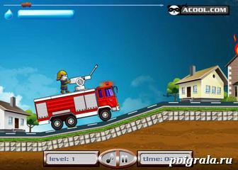 Картинка к игре Кот Том пожарник