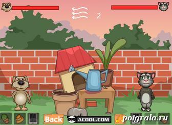 Картинка к игре Кот Том против Бена