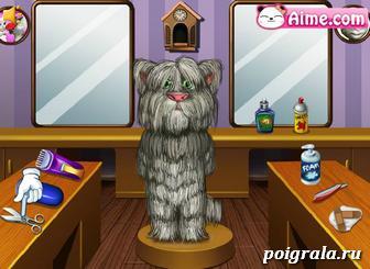 Картинка к игре Побрей кота Тома