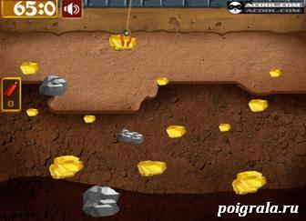 Картинка к игре Кот Том золотоискатель