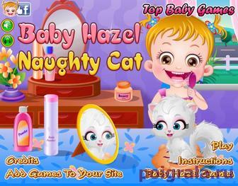 Котенок малышки Хейзел картинка 1