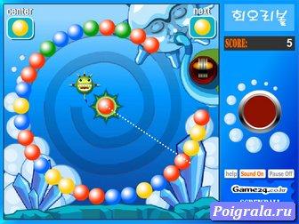 Игра Зума хрустальные шарики