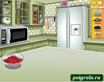 Картинка к игре Кухня Сары, фруктовый пирог