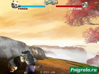 Картинка к игре Кунг-Фу панда, смертельная битва