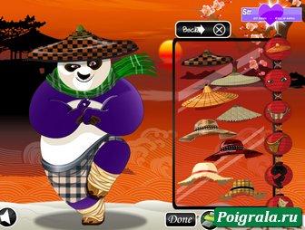 Картинка к игре Кунг фу панда одевалка