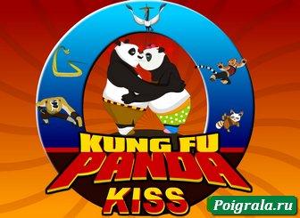 Игра Поцелуй кунг-фу панды
