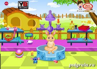 Картинка к игре Уход за кроликом