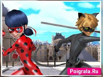 Картинка к игре Леди Баг и супер Кот пазлы
