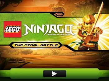 Лего ниндзя го драки: финальная битва