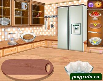 Картинка к игре Фруктовый торт от Сары