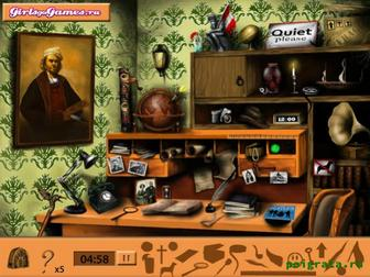 Картинка к игре Таинственная библиотека