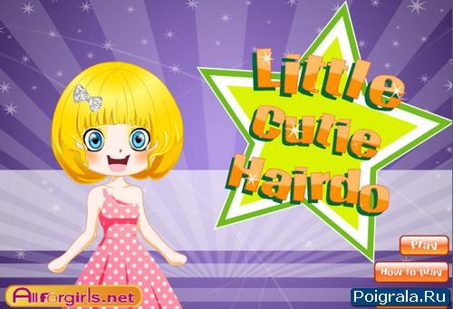 Игра Прическа для маленькой девочки