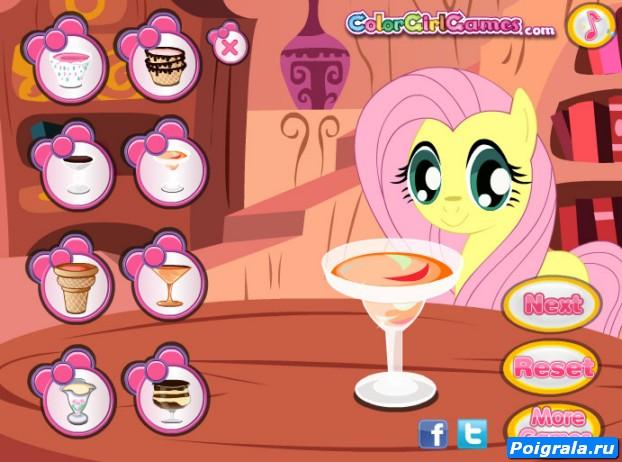 Картинка к игре Май литл пони, мороженое
