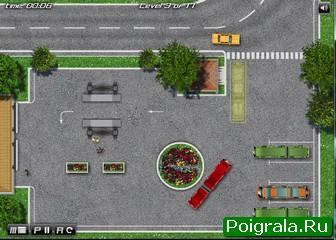 Картинка к игре Парковка длинного автобуса