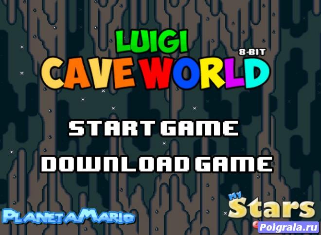 Луиджи в пещере картинка 1