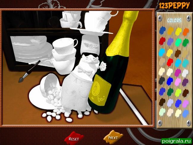 Картинка к игре Пингвин из мадагаскара