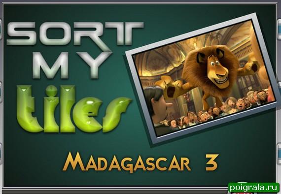Игра Пазл Алекс из Мадагаскара