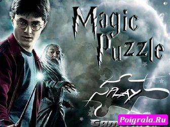 Игра Пазл с Гарри Поттером