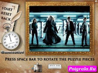 Картинка к игре Пазл с Гарри Поттером