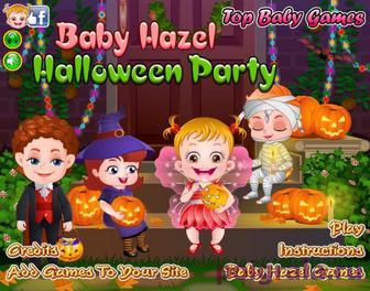 Игра Малышка Хейзел и хеллоуин