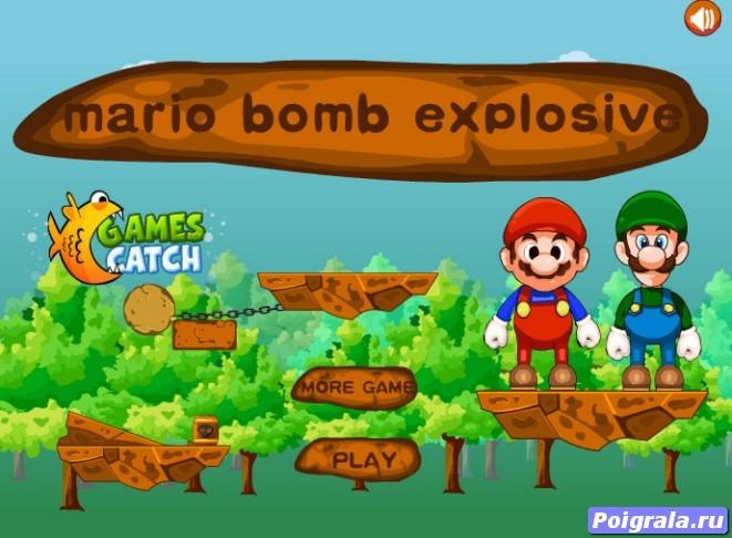 Игра Взорви Марио