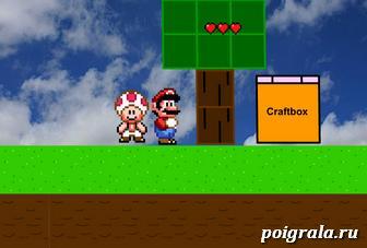 Марио крафт картинка 1