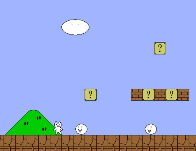 Картинка к игре Марио кот