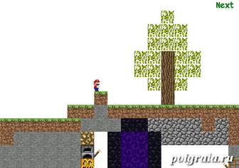Игра Марио в майнкрафте