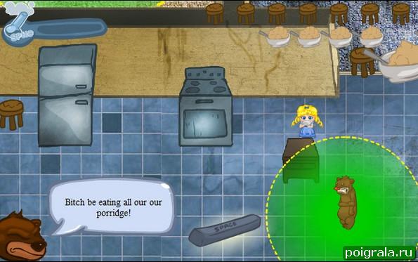 Картинка к игре Маша и 3 медведя