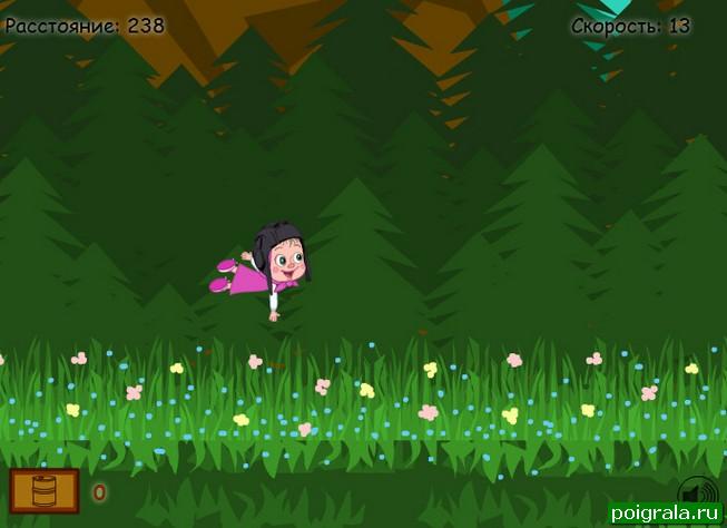 Картинка к игре Маша летает