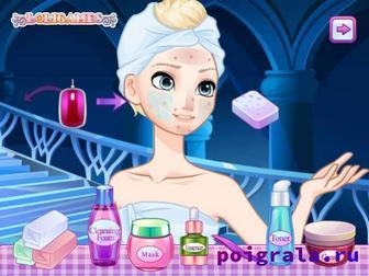 Картинка к игре Маска для кожи Эльзы