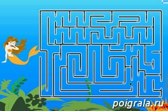 Картинка к игре Русалка в лабиринте