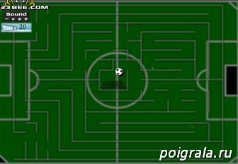 Картинка к игре Мяч в лабиринте