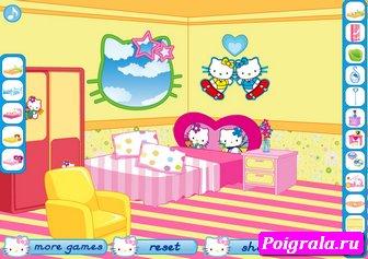 Картинка к игре Мебель для спальни Китти